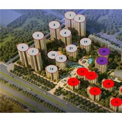 乐华城翠缇学府-大都市南北主轴带、均价9200/平米