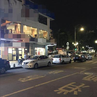 街口转角旺铺 夜市一条街 居住区出入口