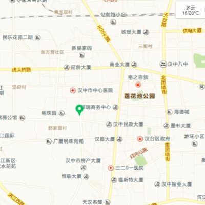 汉中市汉台区西环路桃源居商住2层
