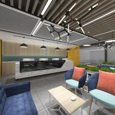 东城写字楼出租 小型办公室可注册 精装修带家具