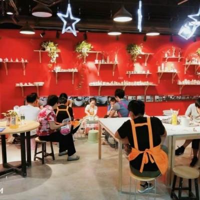 个人低价急转连锁品牌陶艺馆客源稳定接手可盈利
