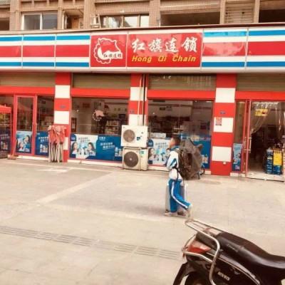 2万单价营门口12米开间临街旺铺(红旗超市)年收租金14万!