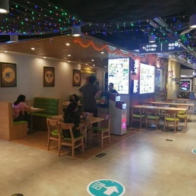 深圳南山世界之窗地铁C1出口大型商场餐饮铺转让
