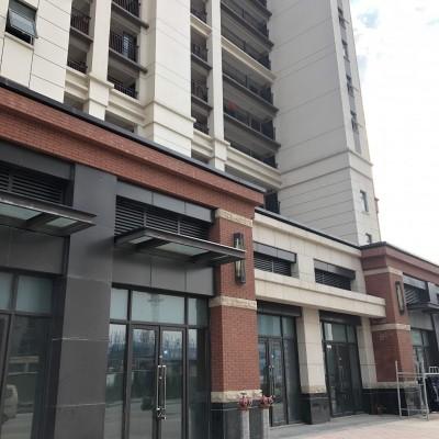出租临街商铺带地下室户型方正可设计做成3层