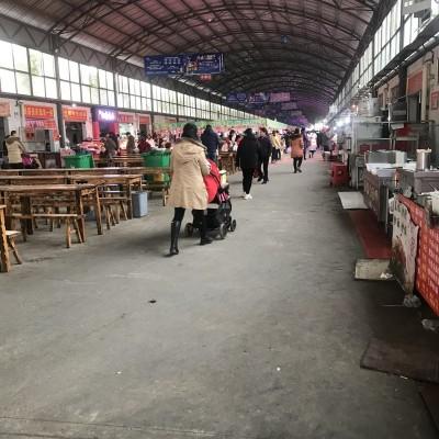 洪山区南湖社区菜市场早餐店