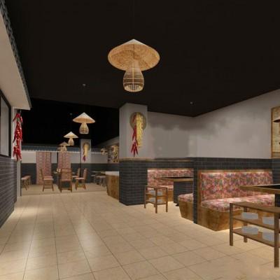 沿街新装修特色餐馆 设备齐 证照全 性价比高 看中价格还可谈