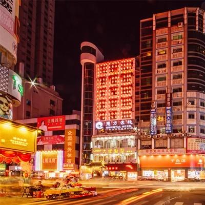(东方历史文化主题酒店转让)樟木头中心区商业街