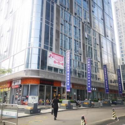 自贸区金融中心地铁口位置买下开餐厅