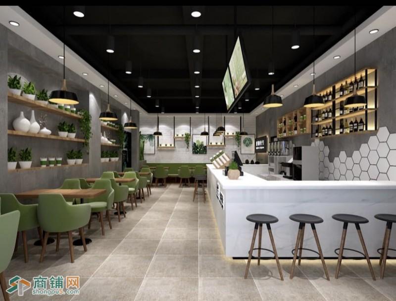 苏州工业园区超火人气商场内奶茶店转让