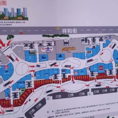 <出售>买商铺送总价40万商铺面积43平米.新城吾悦广场商铺