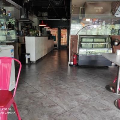 国美第一城餐饮街临街餐饮商铺转让,适合快餐外卖或咖啡茶馆