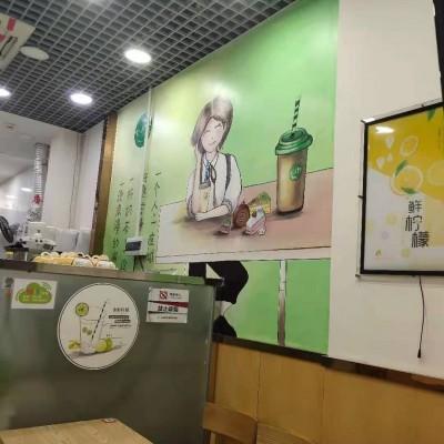龙岗五和宝银广场奶茶店转让w